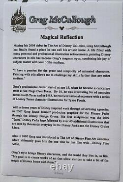 Greg Mccullough's Magical Reflections Deluxe Matted Print Signed