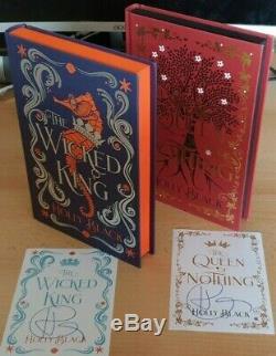 Holly Black Le Méchant Roi De La Reine Rien Signe Deluxe Illumicrate Editions