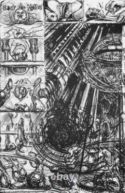 Hr Giger Alien Necronomicon I + Ii, 1984 Première Édition Limitée De Luxe Signée