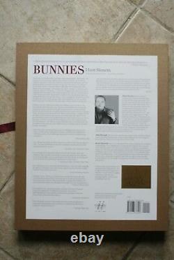 Hunt Slonem, Bunnies, Ltd. Ed. Signé Artprint Et Table Base Livre Deluxe