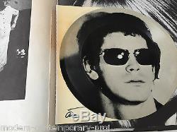 Index Andy Warhol Livre De-luxe Ed. Signé À Plusieurs Reprises. Également Sur Les Multiples