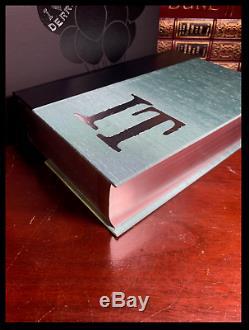 It Signé Par Stephen King Mint Cemetery Dance Deluxe Limitée Lettered 1/52