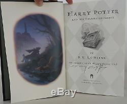 J. K. Rowling Harry Potter Et Le Prince De Sang Mêlé U. S. Premier Signe De Luxe