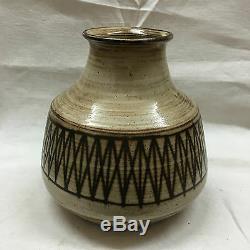 Jacques Pouchain Dieulefit Grand Vase En Céramique Ceramique Française Vintage Signé