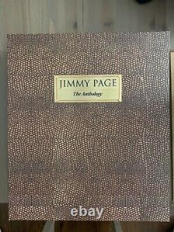 Jimmy Page Anthology Deluxe Vip Edition Signé 121/350