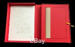 Kate Bush Comment Être Invisible New Signed Edition Deluxe Limitée À Seulement 500 Exemplaires
