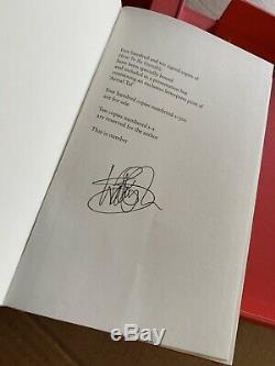 Kate Bush Comment Faire Pour Être Invisible Signé Par Kate Bush Livre Spécial Deluxe Edition