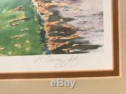 Kathleen Chaney Fritz Signé #ed Mackinac Island Art Grand Hôtel Encadrée Imprimer