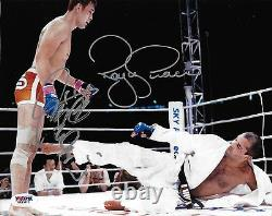 Kazushi Sakuraba & Royce Gracie A Signé 8x10 Photo Psa / Adn Pride Grand Prix 2000