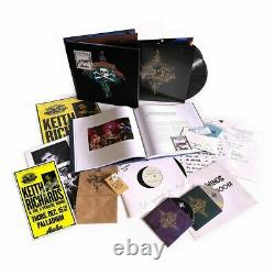 Keith Richards Signed Live At The Hollywood Palladium Super Deluxe Boxset Lp CD