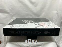 L'art De Tim Burton Deluxe Edition Signe & scelles