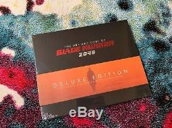 L'art Et L'âme De Blade Runner 2049 Deluxe Edition Signée Par Le Directeur & Wife
