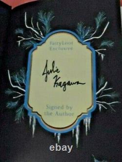 L'iron Fey Deluxe Set Julie Kagawa Ya Fairyloot Signé