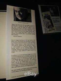 La Dernière Licorne Par Peter S. Beagle Deluxe Ed A Signé Le Premier Ed / Signature Billets