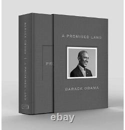 Le Président Barack Obama A Signé Autograph A Promised Land Deluxe Edition Pré-commande