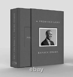 Le Président Barack Obama A Signé Un Livre En Main De L'édition Deluxe Scellée