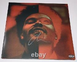 Le Weeknd Signé Autograph After Hours Deluxe Disque Vinyle Album Cover Sold Out