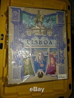 Lisboa Deluxe Kickstarter Pledge Ks Jeu Signé Par Vital Lacerda