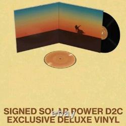 Lorde Solar Power Signe Gatefold Deluxe Vinyl Lp Autographed Plus 7 Pic Disque