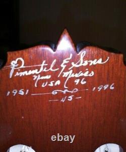 Lorenzo Pimentel 1996 Grand Concert Guitare Classique Signée