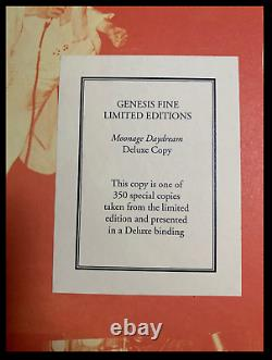 Lunage Daydream Signé Par David Bowie Genesis Deluxe Leather Limited 1/350