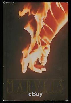 Marvels Deluxe Limited Edition Signée Et Numérotée Relié Rare Art Hc Alex Ross