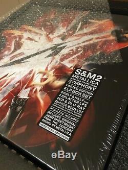 Metallica S & M2 Super Deluxe Lp Vinyle Box Set Ltd À 500 Signé Par Bande Sealed
