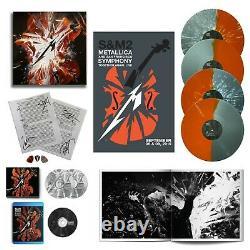 Metallica S&m2 Super Deluxe Box Set Avec Partitions Autographiées