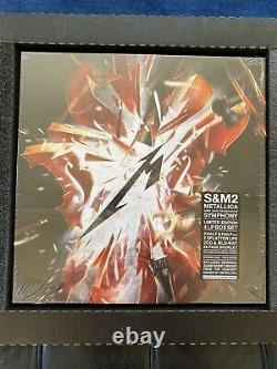Metallica S&m2 Super Deluxe Box Set Limited À 500. Feuilles Signées Par Bande Scellées