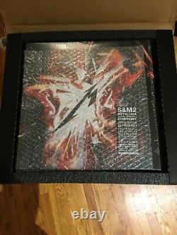 Metallica S&m2 Super Deluxe Lp Vinyl Box Set Ltd. À 500 Signés Par Bande Scellée