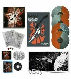 Metallica Signe Pre-order S & M2 Super Deluxe Lp Vinyle Box Set