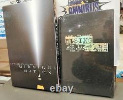 Minuit Nation Deluxe Slipcase Hc + Rising Stars Hc Signé (scellé En Usine)