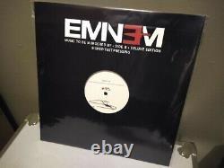 Musique D'éminim À Être Massacrée Par Signé Deluxe Lp Vinyl Test Pression