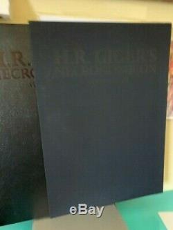 Necronomicon 1 & 2 H R Giger Deluxe En Cuir 601/666 Signé
