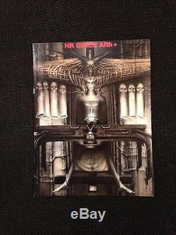 Necronomicon 1 & 2 H R Giger Deluxe Leather 181/666 Signé Litho Presque Non Lu