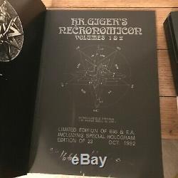 Necronomicon, H R Giger, Deluxe Edition Limitée, Signée