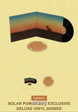 New Free Ship Lorde Solar Power D2c Exclusive Signed Deluxe Vinyl Lp Précommande