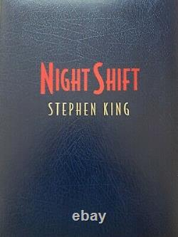 Night Shift Deluxe Artist Edition Par Stephen King- Signé Numbered Limited