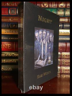 Night Signed Par Elie Wiesel New Easton Press Leather Bound Deluxe Limit 1/850