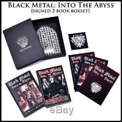 Noir De Luxe Metal 5 Livre Signe Paquet Inc Evolution, 7 Livres, 2 Boxsets