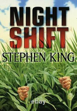 Nouveau Stephen King Night Shift Limited Deluxe Gift Edition Artist Slipcased CD