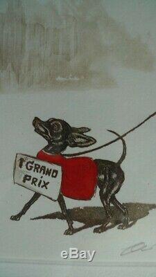 O'klein Gravure Originale Grand Prix