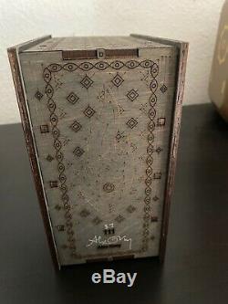 Outil Fear Inoculum Limitée Deluxe Edition Collector 37/111 Alex Gray A Signé