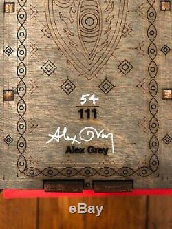 Outil Peur Inoculum Coffret Collector Deluxe CD Set Le 111 Alex Gray Signé Dans La Main