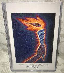 Outil Peur Inoculum Coffret Collector Deluxe CD Set Le 111 Alex Gray Signée Épuisé