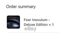 Outils Fear CD Deluxe Edition Inoculum Main Signée Par Alex Grey Rare