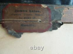Paire Grand Tour Antique Drawings Charcoal Bodycolour Pompéi