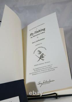 Pêche À La Mouche De La Montagne Lacs (deluxe Boxed Signé) Par Lafontaine, Gary
