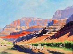 Peinture Originale De Grand Canyon Arizona Southwestern Desert Landscape Art