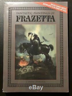 Peintures De Fantastique Frank Frazetta Deluxe Signed Slipcase Édition